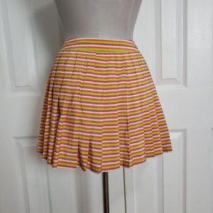 LN Lacoste Crocodile Pleat Mini Tennis Skirt 42